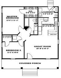 Two Bedroom House Plans by Floor Plan For A Small House 1 150 Sf With 3 Bedrooms And 2 Baths