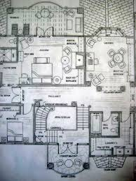 Spanish Colonial Architecture Floor Plans Upper Level Floor Plan Spanish Colonial Residence By Greta G