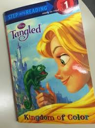adapted book symbols tangled kingdom color breezy special ed