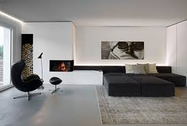 Black And White Laminate Floor 30 Black U0026 White Living Rooms That Work Their Monochrome Magic