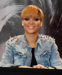 rihanna short with bangs rihanna short hairstyles lookbook