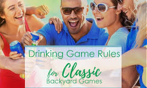 Backyard Drinking Games Find The Best Outdoor Drinking Games At Your Backyard Games Source