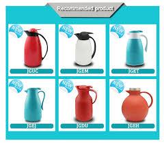 Vase Shaped Jug Vase Shape Elegant Termos Coffee Water Pot Glass Refill Tea Jug