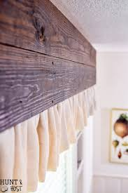 Diy Drop Cloth Curtains Wood And Dropcloth Curtains Hunt And Host