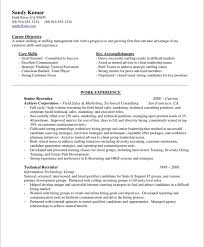 Hr Professional Resume Sample by Sample Resume Recruiter 4 Technical Recruiter Resume Example