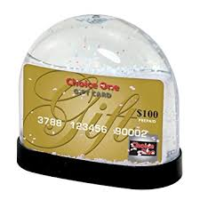gift card snow globe gift card snow globe home kitchen