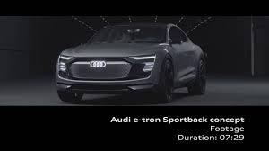 audi the architecture of e mobility audi e tron sportback concept