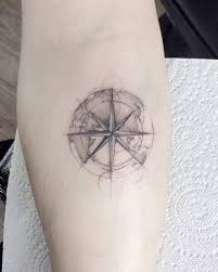 compass tattoo meanings nautical designs ideas 2018
