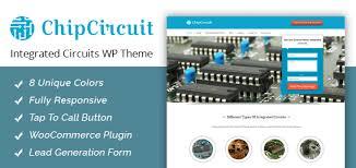 chipcircuit integrated circuits wordpress theme u0026 template