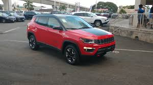 jeep compass trailhawk interior new 2017 jeep compass trailhawk sport utility in pearl city