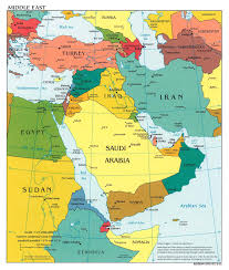 Africa Map With Capitals by Map Of Saudi Arabia And Africa Wiring Get Free Images About