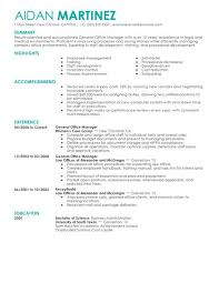 Sample Resume General by General Administration Sample Resume 21 Resume S Samples For Cover