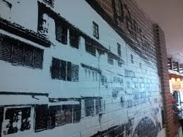 clearly awesome clear vinyl inspiration close up vinyl wall mural on brick