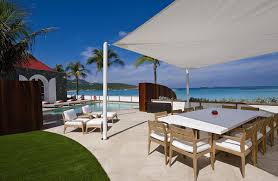 Outdoor Bedrooms by Rockstar Villa St Barts Villas Eden Rock Villa Rental