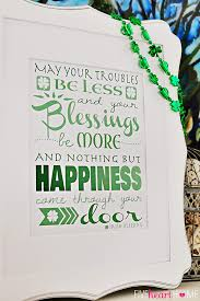 blessing for the home st s day free printable blessing