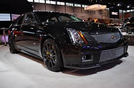black cadillac cts chicago 2011 the cadillac cts v wagon black edition is