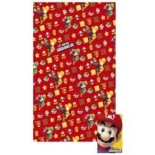 mario wrapping paper mario bros gift wrap 2 sheets folded and 2 tags
