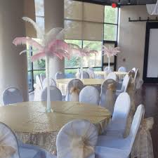 Table Decorations With Feathers Event Rental Near Greenville Sc For The Diy Specialist