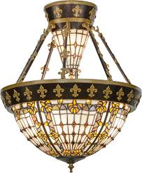 gold ceiling light fixtures meyda tiffany 150922 fleur de lis tiffany copper vein nu gold
