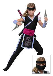 Ninja Halloween Costume Kids Rainbow Ninja Costume Girls