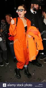 Prison Jumpsuit Miley Cyrus Miley Cyrus Wears A Prison Jumpsuit Bouncy Eye