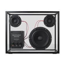 transparent speaker moma design store