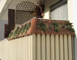 obi sichtschutz balkon obi selbstgemacht balkon weiden sichtschutz mit led flutlicht