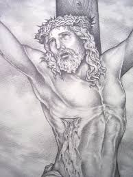 pencil drawing of jesus on the cross tattoo tattoos book