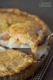 pot pie chicken or turkey for leftovers