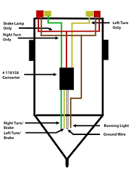 trailer light wiring diagram 4 pin7 pin plug within way for lights