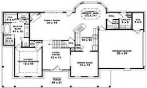 Awesome One Story House Plans Custom 30 5 Bedroom House Plans 2 Story Decorating Inspiration Of
