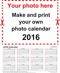 Template 4 calendar 2016 for Word 12 pages portrait