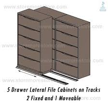Lateral Filing Cabinet Rails 2 1 Sliding Lateral Filing Cabinets On Rails 42 Wide File