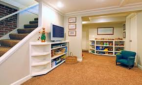 Unfinished Basement Floor Ideas Basement Playroom Flooring Ideas Unfinished Basement Floor Ideas