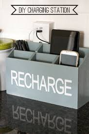 build a charging station 19 diy charging stations to power up your life