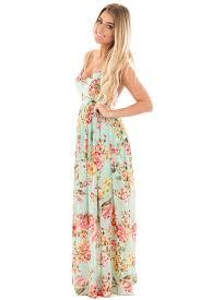 floral maxi dress mint floral print open back maxi dress lime lush boutique