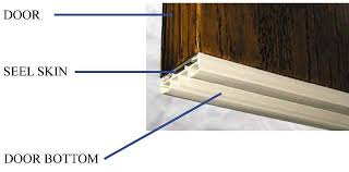 Exterior Door Bottom Seal Protect The Bottom Of Your Wood Entry Door With Seel Skin Kuiken
