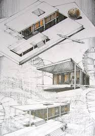 House Architecture Drawing 633 Best Drawings Architectural Images On Pinterest