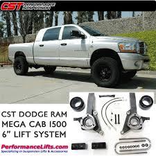 03 dodge ram 1500 lift kit cst 2003 2008 dodge ram 1500 mega cab 6 lift csk d23 6
