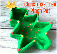 christmas tree pinch pot the imagination tree