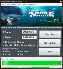 hacker tool apk hungry shark evolution hack