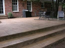 nice pouring a concrete patio with concrete porch stairs design