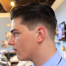 fade haircut with long hair on top popular long hairstyle idea