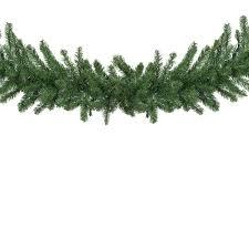 artificial garland douglas fir unlit garland