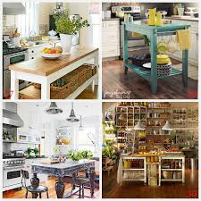 diy kitchen ideas kitchen island ideas decorating and diy projects