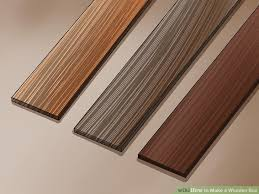 How To Paint Wood Blinds How To Make A Wooden Box With Pictures Wikihow