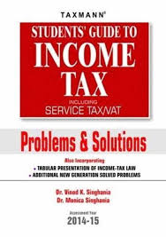 student u0027s guide to income tax including service tax vat problems