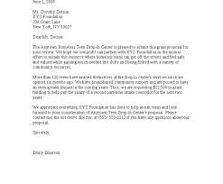 sample grant cover letter non profit cover letter templates