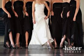 bridesmaids wearing different shoes weddingbee
