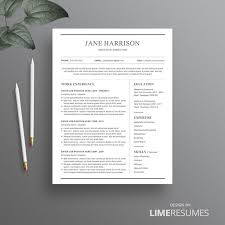 Classic Resume Template 27 Best Etsy Resume Templates Etsy Cv Templates Images On